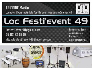 Loc Festi'event 49
