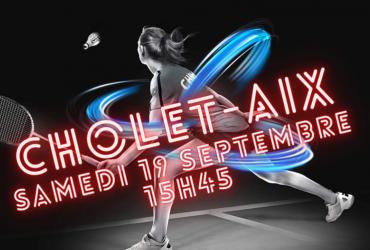 CHOLET- AIX EN PROVENCE….Inscrivez-vous!