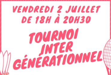 Tournoi Intergénérationnel